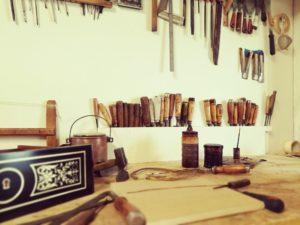 atelier d'ébénisterie